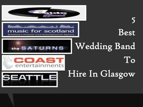 5 Best Wedding Band To Hire In Glasgow