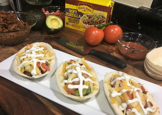 Celebrate the Big Game in Style with Old El Paso Football Tacos - Dad Logic