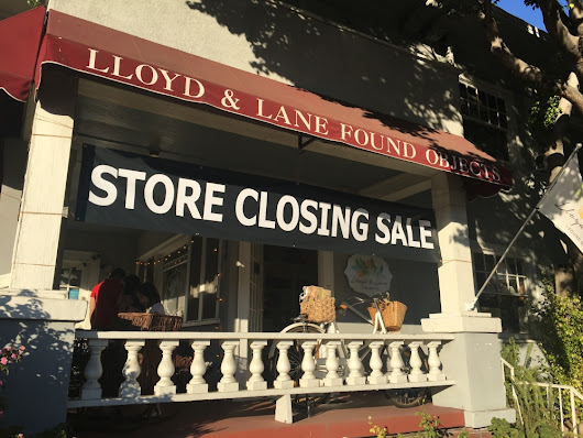 Lloyd & Lane Found Objects Closing its Doors | South Pasadena News