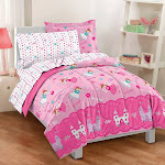 Dream Factory Magical Princess Mini Bed in a Bag - Pink (Twin)