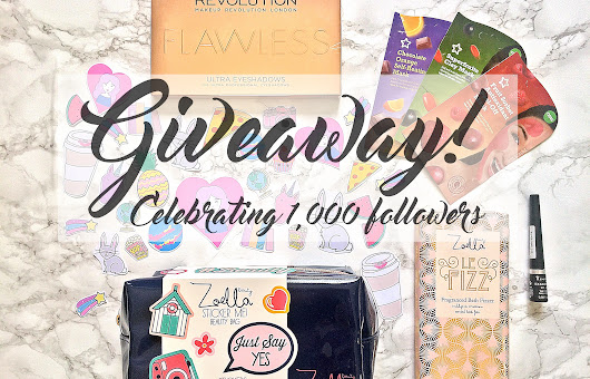 Giveaway to Celebrate 1,000 Twitter Followers -