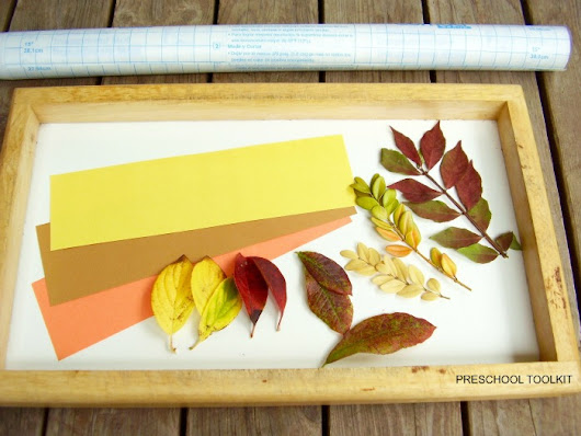 Fall Leaves Bookmark Craft for Kids | The Jenny Evolution