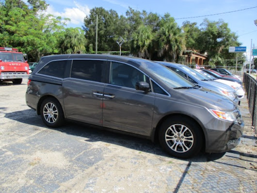 Used 2012 Honda Odyssey EX-L for Sale in Pensacola FL 32502 Bill Haven Cars Inc