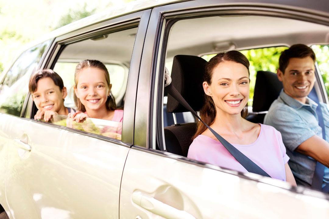 family in car 2