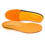 Superfeet ORANGE Insoles, High Arch Support and Forefoot Cushion Orthotic Insole for Anti-fatigue, Unisex, Orange Size H:15+ ORANGE