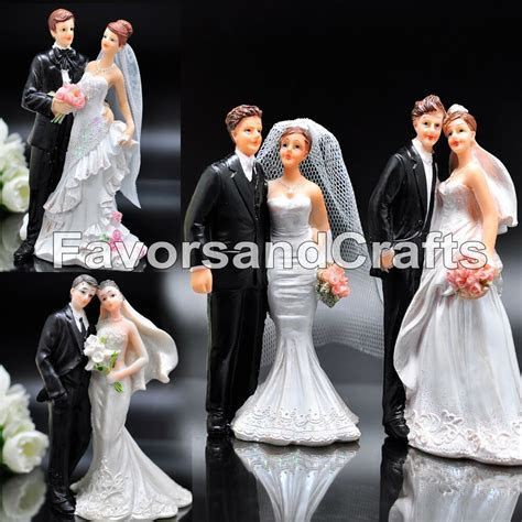 Wedding Cake Topper Love Favors Figurine Decorations Bride