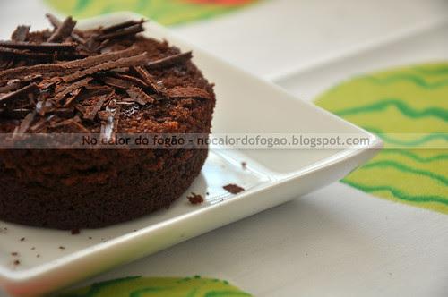 Bolo de chocolate da Nigella na versão pequena
