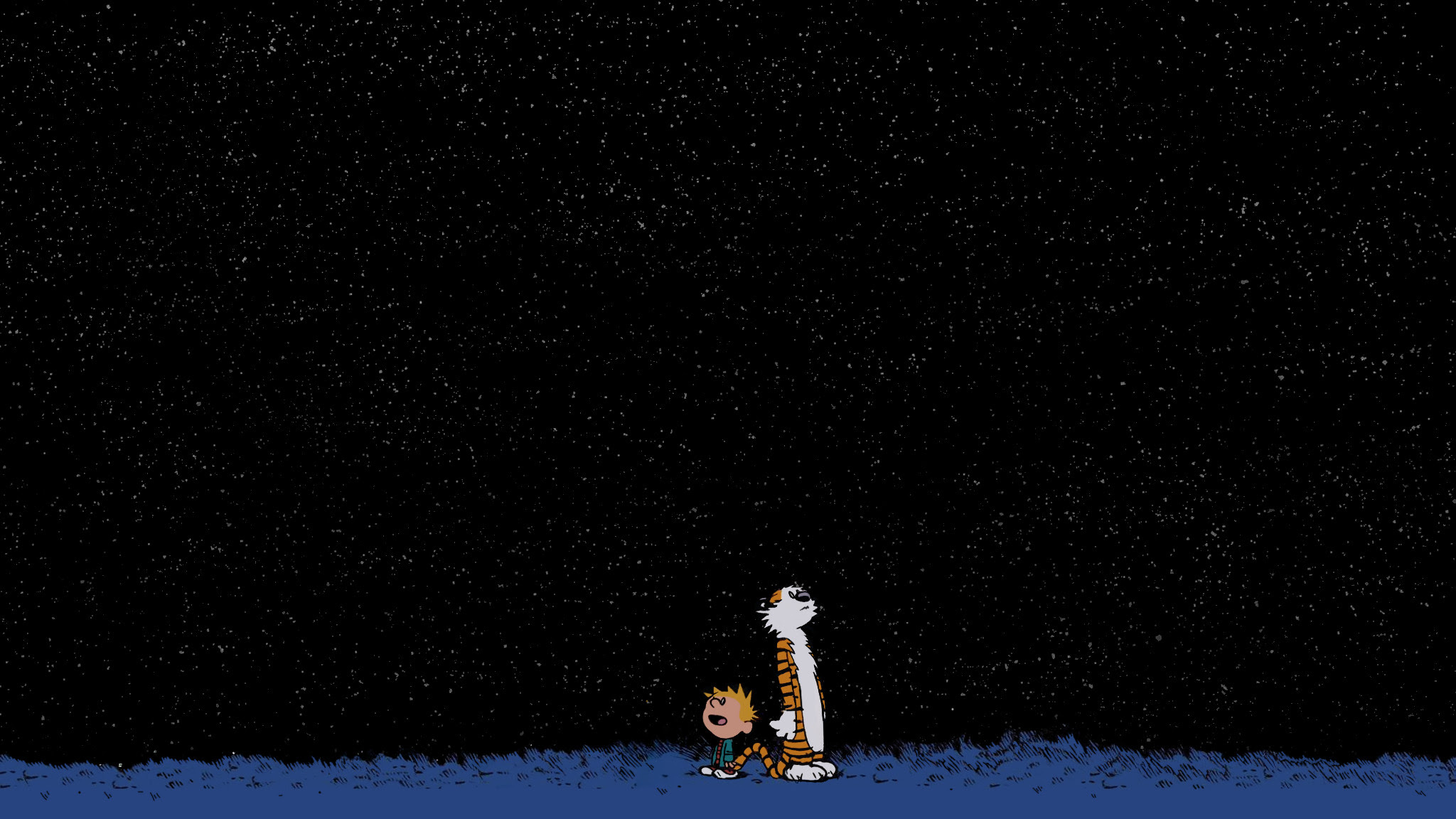 Calvin And Hobbes Stars Wallpaper 69 Images