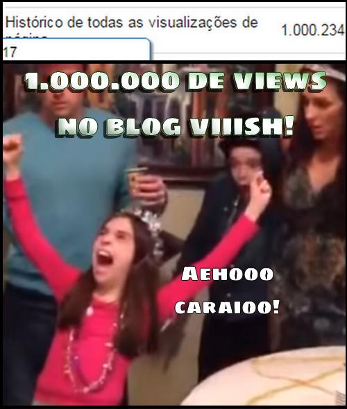 Blog Viiish - Chegamos a um milhão de visualuzações!