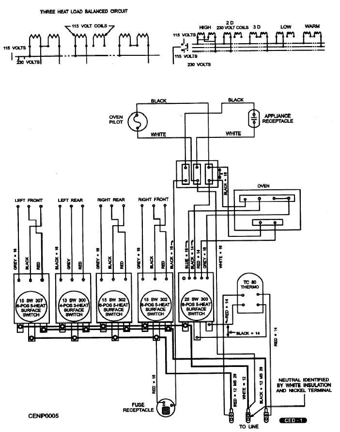 electric stove wiring diagram image 4