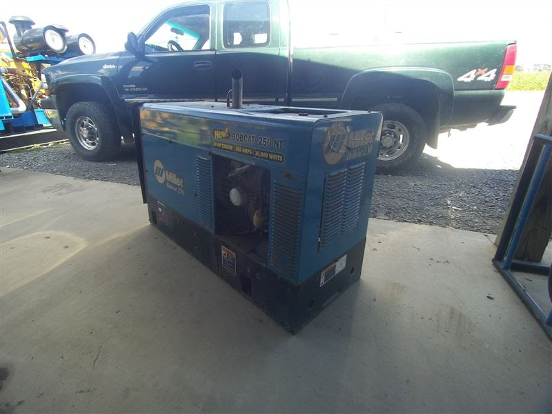 Miller Bobcat 250 NT Welder | Best Used/Rebuilt Machinery ...