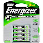 Energizer NH12BP-4 4 Pack Aaa Rechargable Battery
