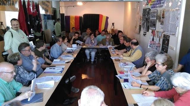Colectivos memorialistas se reúnen para exigir medidas de cara a las elecciones.