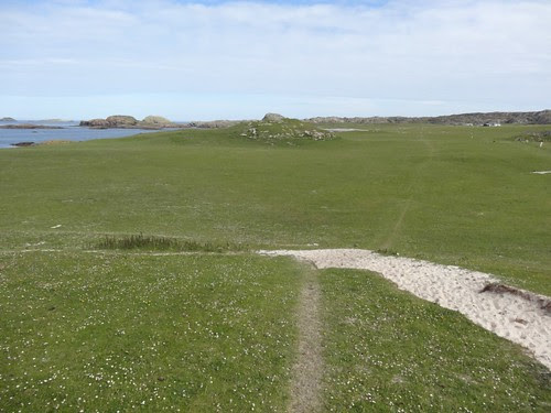 Footpath to Columba's Bay
