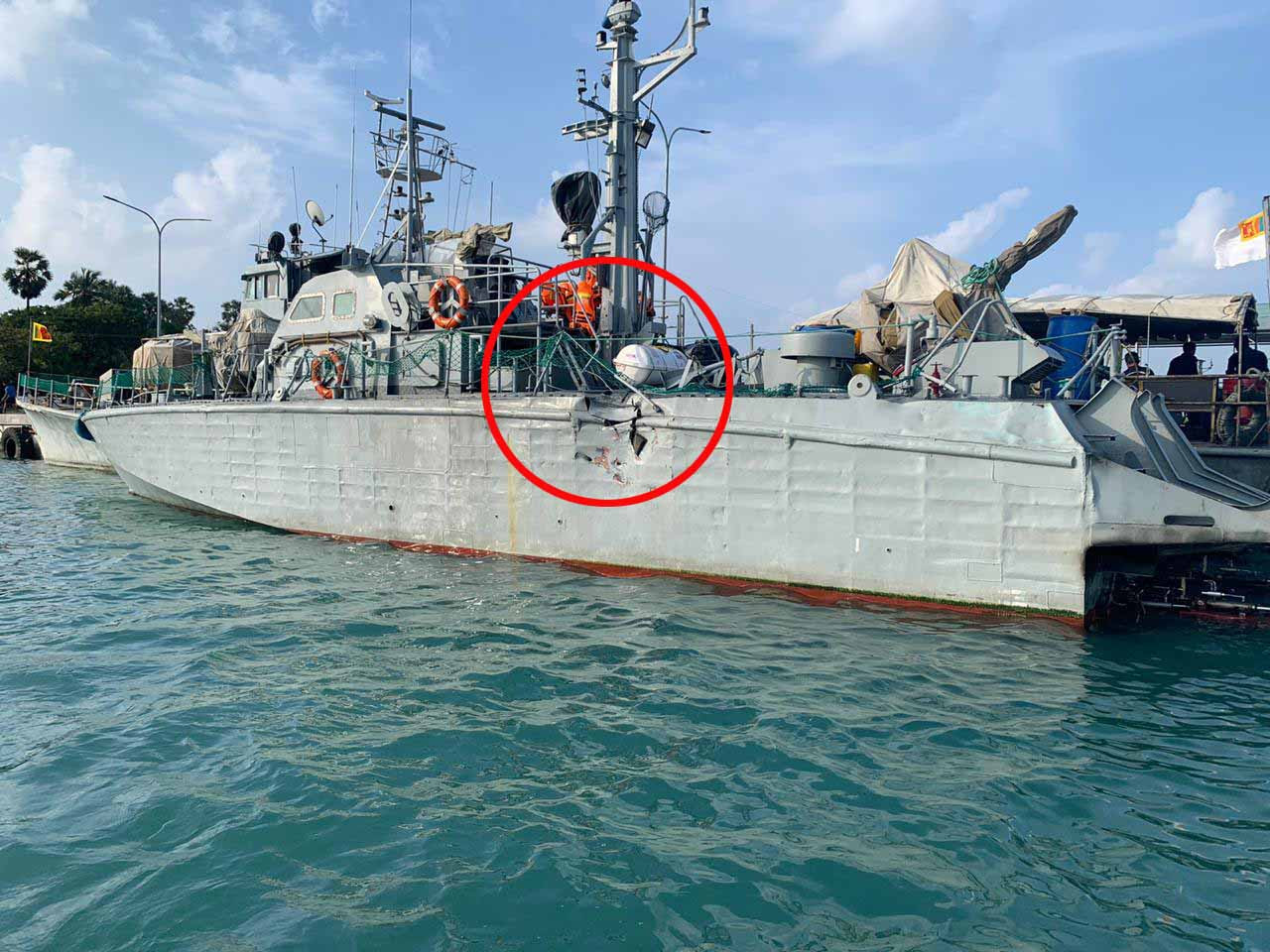 Navy in search and rescue operation to locate fishermen