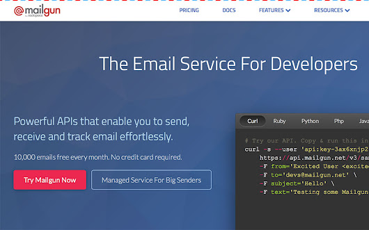 MailGun Lets You Send Bulk eMails Through SMTP And Track Them With Powerful Analytics – Ogbongeblog