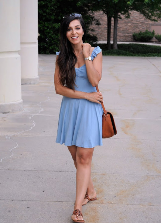 Blue Tank Dress & Target Giftcard Giveaway!