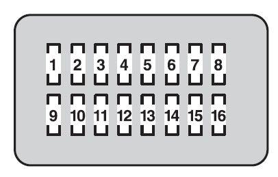 Toyota Land Cruiser 2013 2014 Fuse Box Diagram Auto Genius