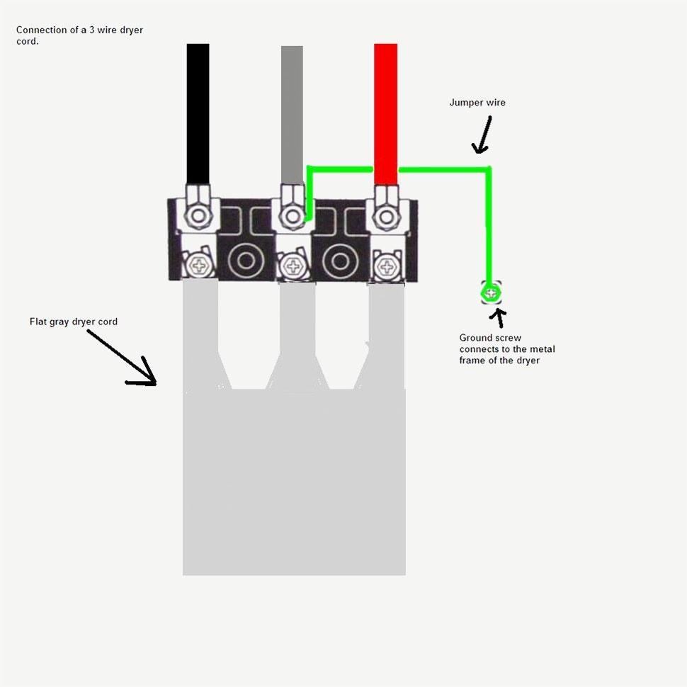 3 Wire Stove Plug Diagram