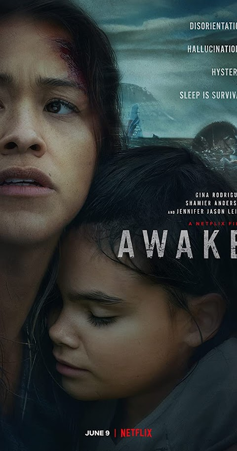 Awake (2021) 480p 720p 1080p WebRip Dual Audio (Hindi+English) | Netfix Film