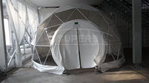 Sound Proof Geodesic Glass Dome Tents Transparent Dome