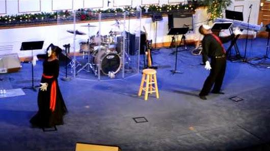 christmas praise dance 2012 - Christmas Praise Dance