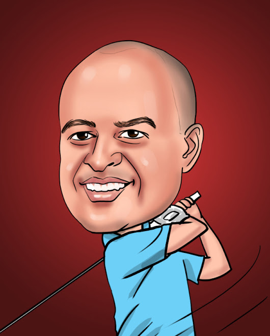 elocaricatures : I will create digital caricature of you for $5 on www.fiverr.com