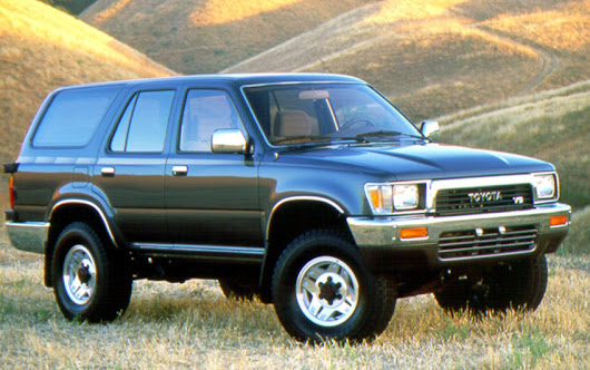 Toyota Runner V6, vrai 4x4 pas trop rustique - Voitures Youngtimers
