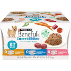 Beneful IncrediBites Dog Food, Just for Small Dogs, 27 Pack - 27 pack, 3 oz cans