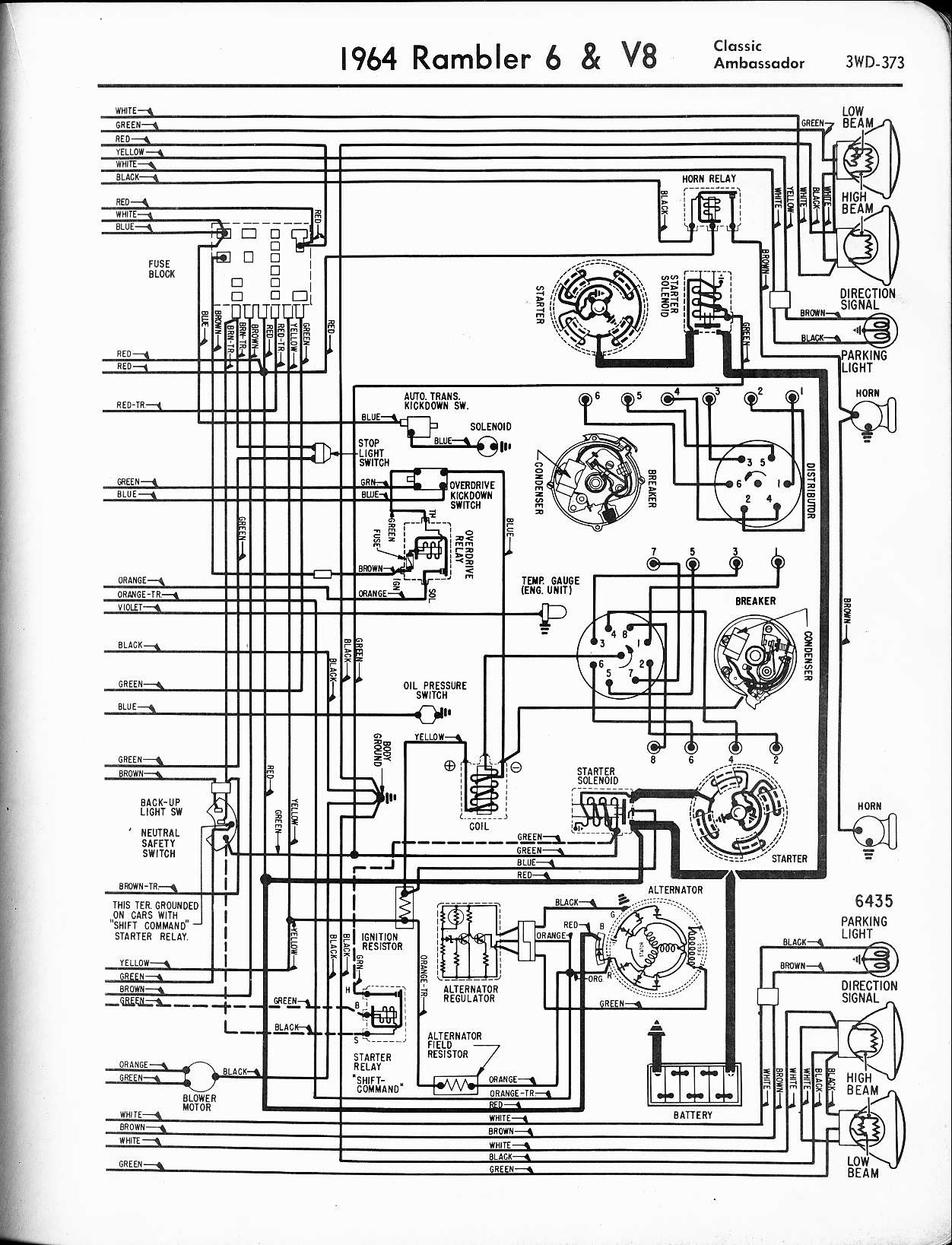 Ambassador Car Ignition Coil Wiring Diagram