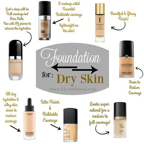 Top Makeup Foundation For Dry Skin   Saubhaya Makeup