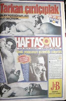 Tarkan's Cosmopolitan photo shoot leaked to the tabloid press
