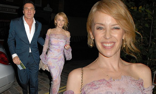 Kylie Minogue heads to Chiltern Firehouse for second night in a row