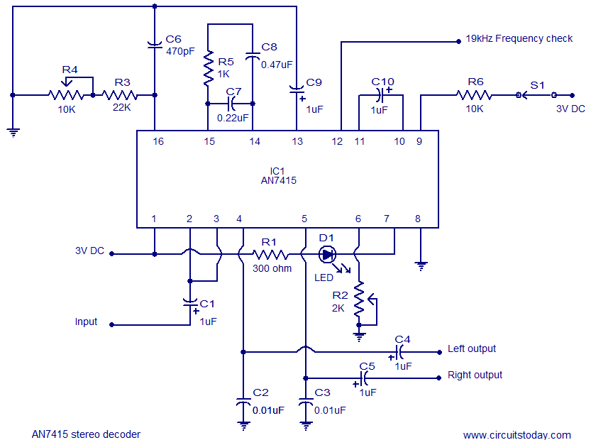 fm stereo decoder