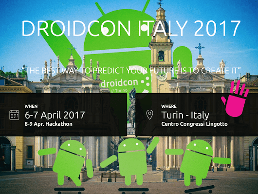 UDOO at Droidcon 2017: expect us! - UDOO