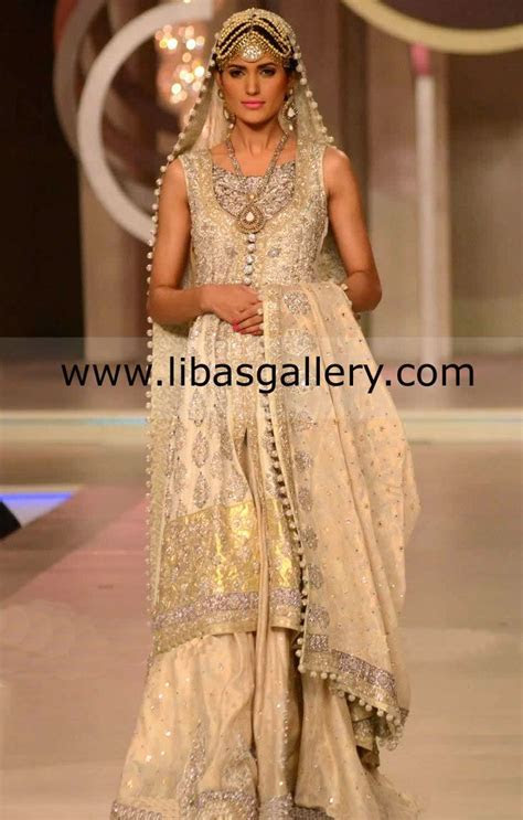 Pakistani Designer Zainab Chottani Bridal Anarkali, Bridal