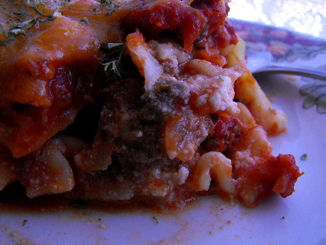 Meat Lovers Lasagna 2