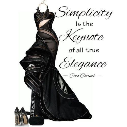 black elegance (girls,dress,girl,fashion,style,clothes,polyvore,our picks)