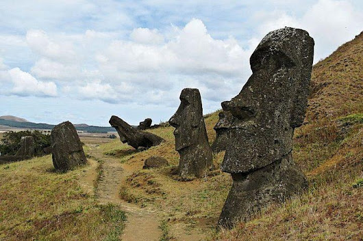 Easter Island's Quarry: Where The Giant Moai Heads Were Born