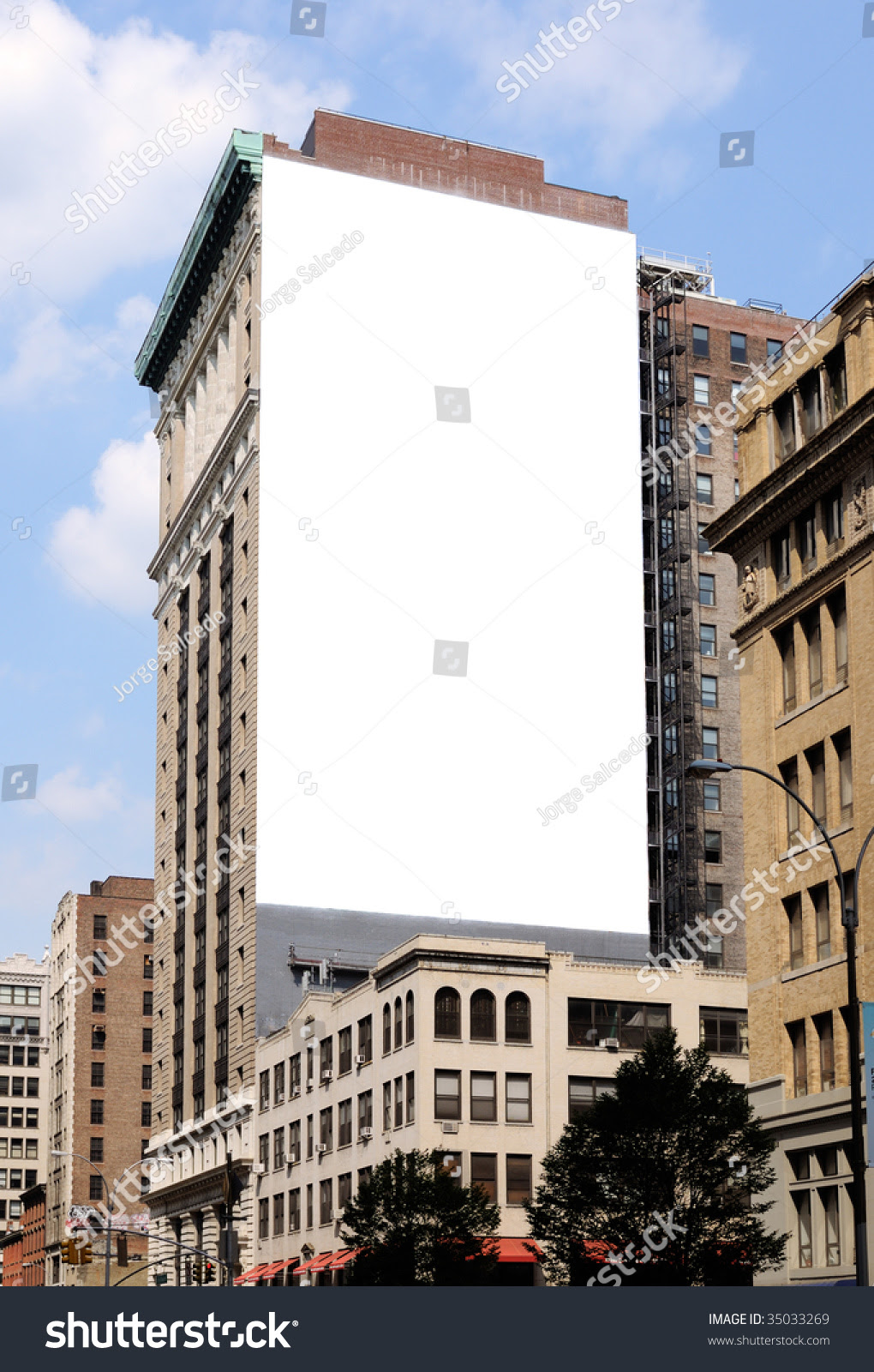 Large Billboard New York City Stock Photo 35033269 - Shutterstock
