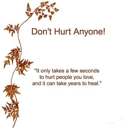 Plz Dont Hurt Anyone Quotes Hurt Quotes Quotes Love Hurts Hurt