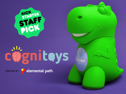 CogniToys: Internet-connected Smart Toys that Learn and Grow by Elemental Path — Kickstarter