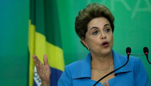 Dilma Rouseff was elected as Brazil