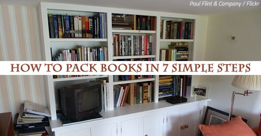 How To Pack Books In 7 Simple Steps
