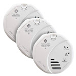First Alert Z-Wave Smoke and Carbon Monoxide Alarm 3-pack