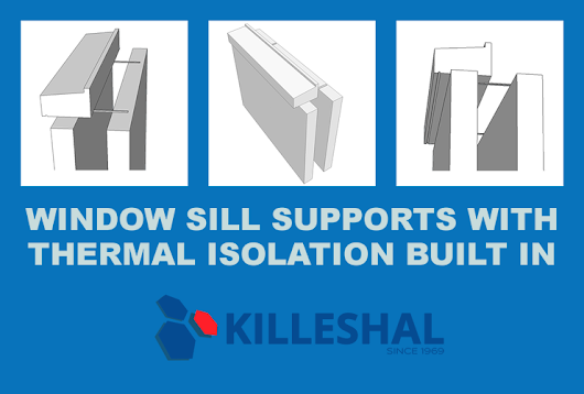 Window Sill Supports with Thermal Isolation | KPC