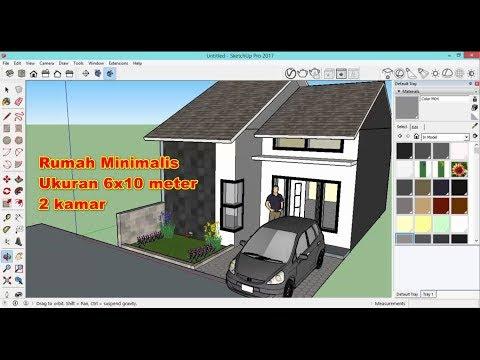 download file sketchup rumah minimalis - model rumah 2019