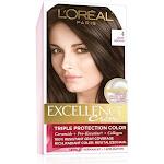 Excellence Creme Permanent Haircolor, Dark Brown 4