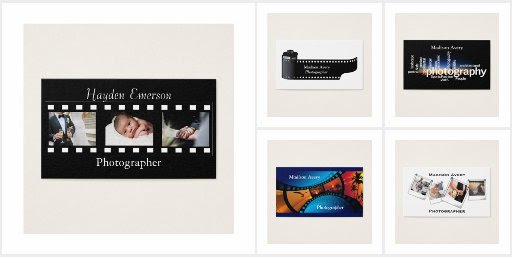 Photography Business Cards Collection