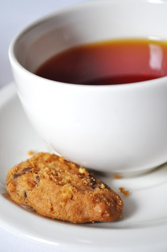 tea w cookie